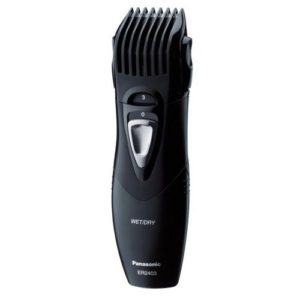 panasonic er2403k503 men s washable beard trimmer in black. Black Bedroom Furniture Sets. Home Design Ideas